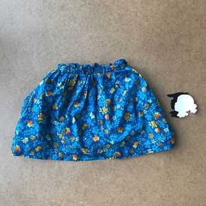 Peek floral skirt size Small 4-5y